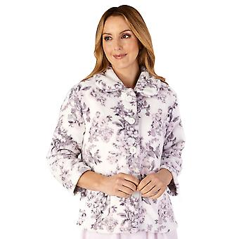 Slenderella BJ4310 mulheres ' s housecoats floral bedjacket