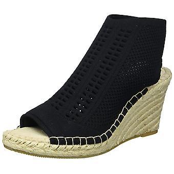 Steven by Steve Madden Womens LOCA Peep Toe Casual Espadrille Sandals
