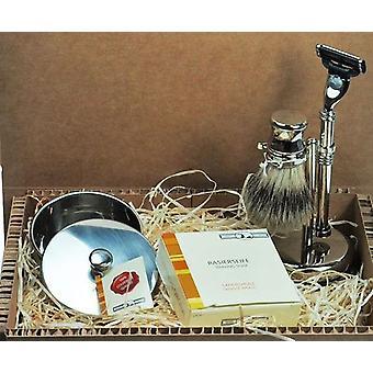 Beard care set in gift box gift set shaving beard Kit