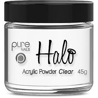 Halo gel nagels LED/UV gel Pools acryl poeder-Clear 45g (N3311)