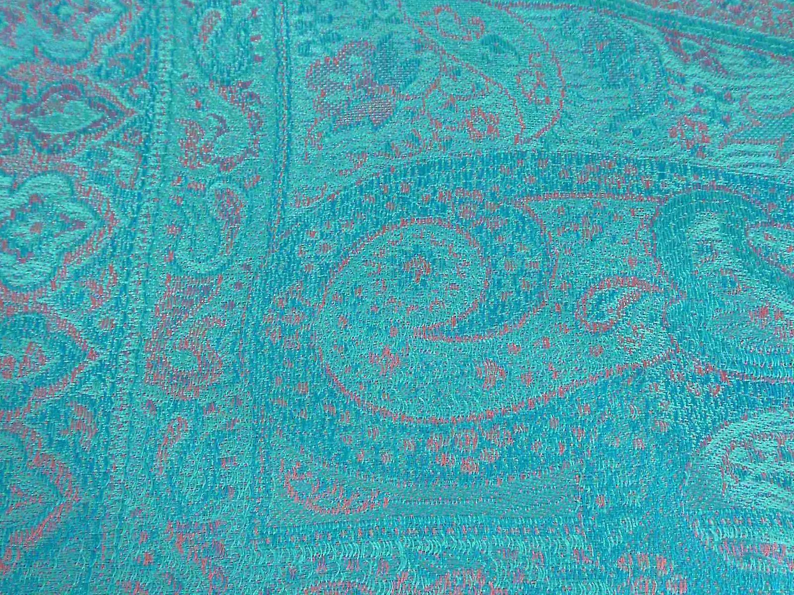 Mens Jamawar Premium Silk Scarf Pattern 4999 by Pashmina & Silk