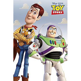 Poster - Studio B - Toy Story - Woody & Buzz 36x24