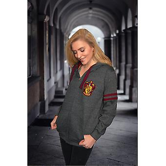 Licensed harry potter™ unisex gryffindor™ zipped hoodie hooded sweatshirt
