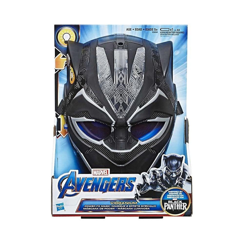 Marvel Avengers Black Panther vibranium Power FX mask
