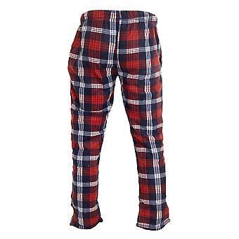 Brave Soul Mens Polar Fleece Verificado Pyjama Bottoms