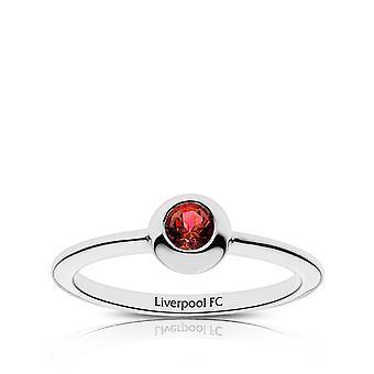 LiverPool Ruby ring i sterling sølv design af BIXLER