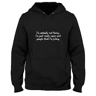 Black man hoodie trk0183 really mean