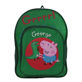 Christmas Shop Boys Peppa Pig George Arch Backpack