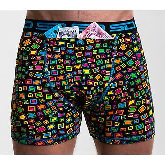 Smuggling Duds Stash Boxers - Technicolour