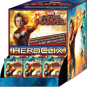 Marvel HeroClix Captain Marvel Movie Gravity Feed (Pack of 24)
