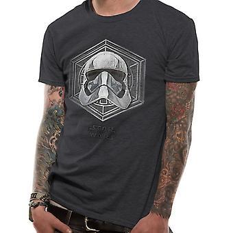 Star Wars voksne unisex voksne kaptajn Phasma badge design T-shirt