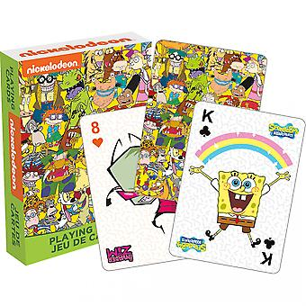 Nickelodeon Cast Cartes à jouer
