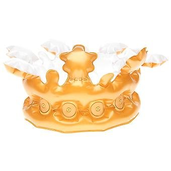 Golddigga Womens Inflatable Gold Crown Ladies