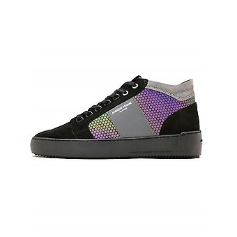Android Homme Android Homme negru hex reflecta propulsie Mid Sneaker