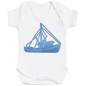 Sailing Boat Design - Baby Bodysuit