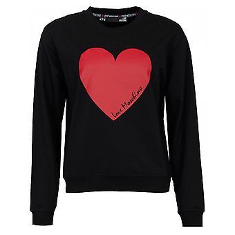 Love Moschino Heart Logo Sweat