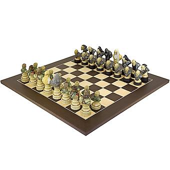 Lord of the Rings Chess Set - Wenge Edition