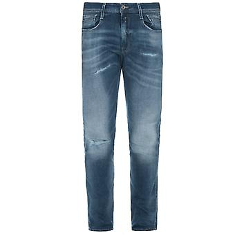 Replay Anbass Aged 10 Faded Jeans