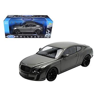 Bentley Continental Supersports Coupe Grey 1/18 Diecast Modellauto von Welly