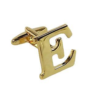 Kulta Cufflink kirjain E