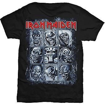 Iron Maiden Alben Nine Eddies Steve Harris Offizielles T-Shirt