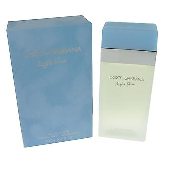Dolce & gabbana light blue for women 6.7 oz eau de toilette spray