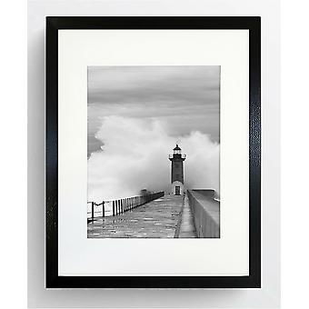 721 Black Photo Poster Frame Wide Large Picture Modern Contemporary A2 For A3