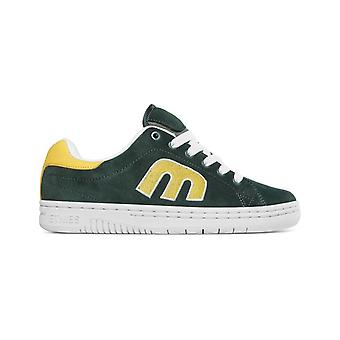 Etnies Calli-Cut Trainers in Green/White/Yellow