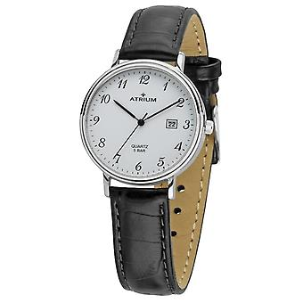 ATRIUM Women's Watch Wristwatch Analog Quartz A29-10 Leather Date