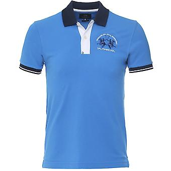 La Martina Slim Fit Contrast Trim Polo Shirt