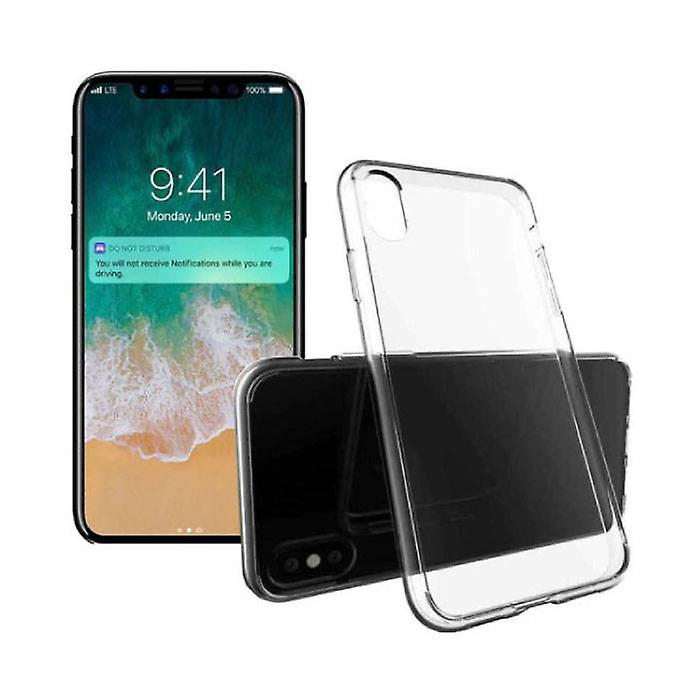 Stuff Certified® 3-Pack Transparent Clear Silicone Case Cover TPU Case iPhone X