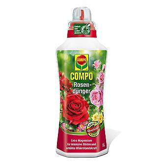 COMPO Rose Fertilizer, 1 litre