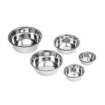 Nayeco Edelstahlzuführung Standard 0,35 l (Hunde , Futter- und Wassernäpfe)