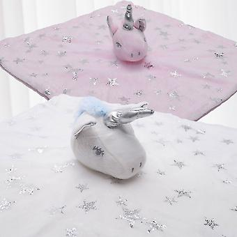 cuddle cloth baby unicorn soft cuddle cloth snuggly toy