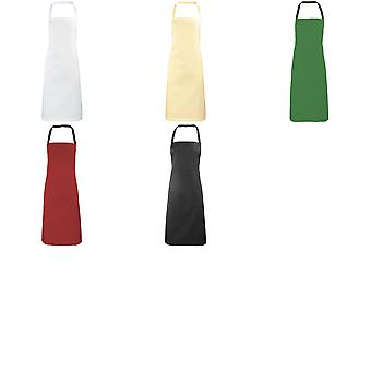 Premier Ladies/Womens Apron (no Pocket) / Workwear (Pack of 2)