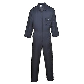 Portwest nylon zip coverall c803