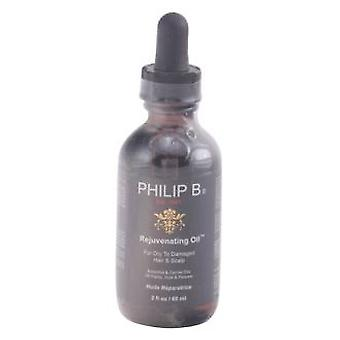 Philip B Rejuvenating Oil For Dry To Damaged Hair and Scalp 60 ml