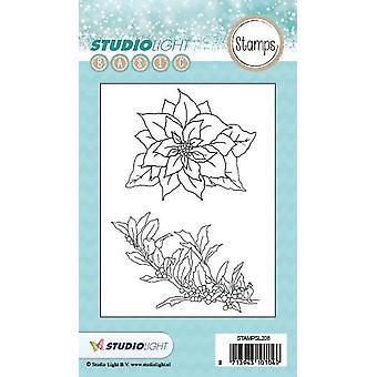 Studio Light A6 Clear Stamp - Nummer 208 Stampsl208