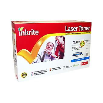 Inkrite Laser Toner Cartridge Compatible with HP Colour LaserJet CP4005 Cyan