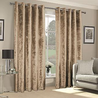 Linens and Lace Unisex Crushed Velvet Curtains