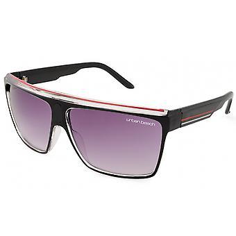 Sonnenbrillen Herren  schwarz/rot