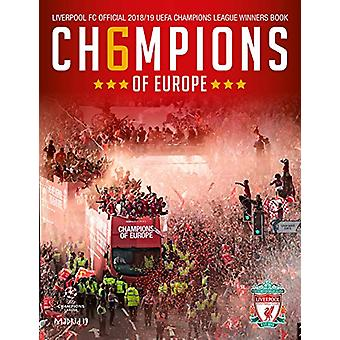 LIVERPOOL FC - CH6MPIONS OF EUROPE - Official Winners Book by Liverpool
