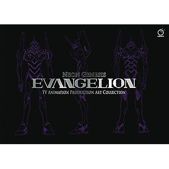 Neon Genesis Evangelion - TV Animation Production Art Collection by kh