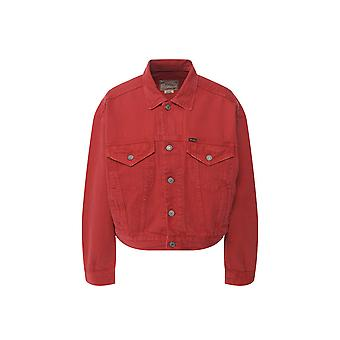 Ralph Lauren Ezcr012019 Women's Red Cotton Outerwear Jacket
