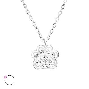 Paw Print - 925 Sterling Silver Necklaces - W32752x
