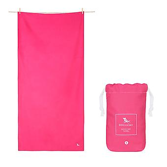 Dock & bay quick dry towel - classic - angel pink
