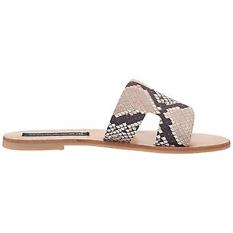 Steven by Steve Madden Womens Greece Fabric Open Toe Beach Slide Sandals