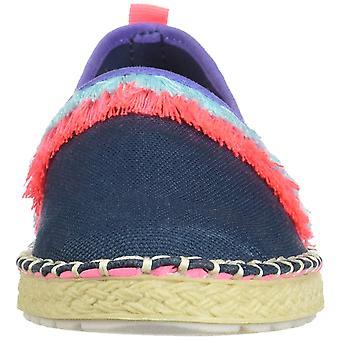 Kids Sperry Girls Stk160662 Fabric Low Top Slip On Fashion Sneaker