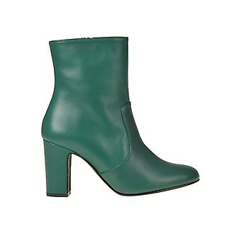 Marc Ellis Ezgl057061 Women's Green Leather Ankle Boots