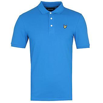 Lyle & Scott Slim Stretch Bright Cobalt Blue Polo Shirt